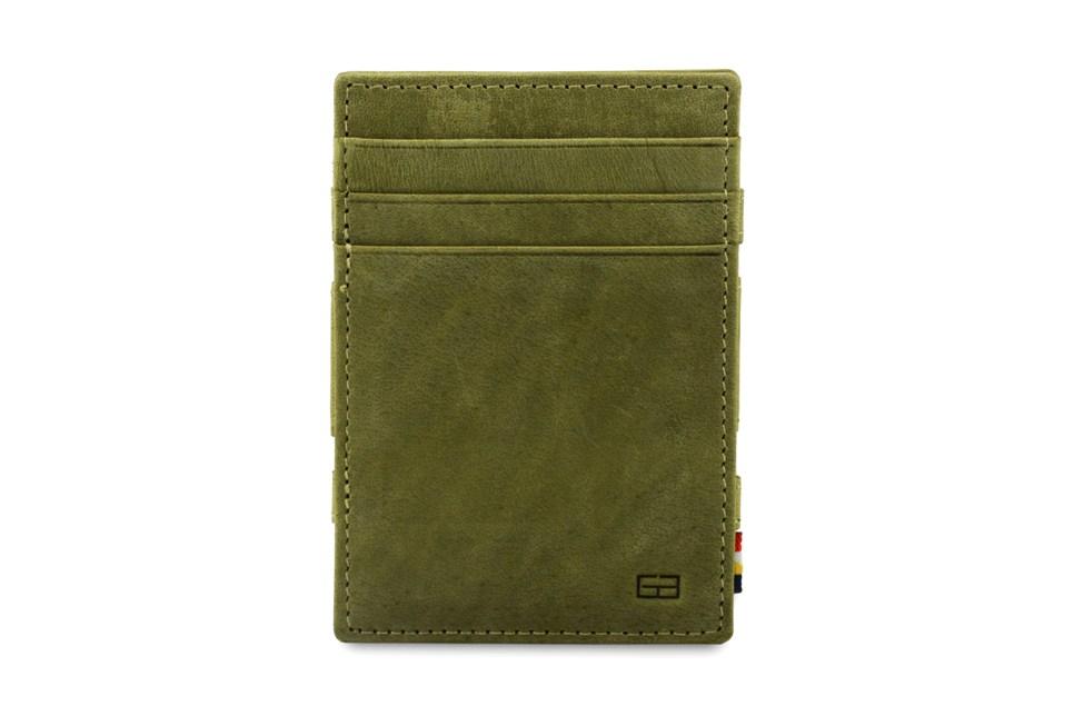 Garzini – magic wallet – Essenziale ID Window – olive green