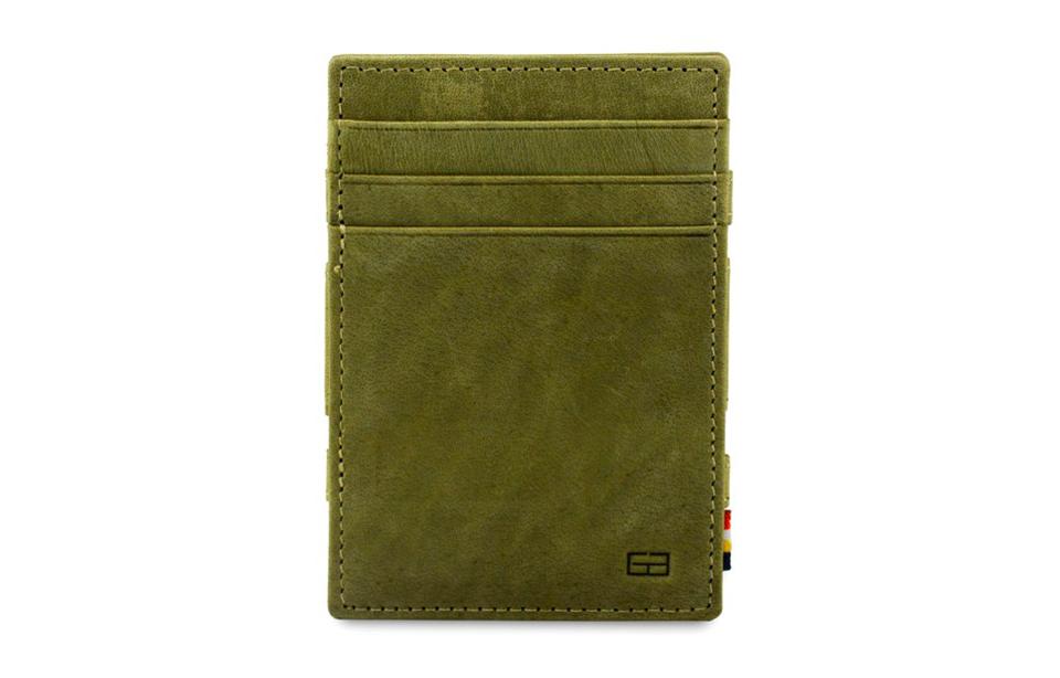 Garzini – magic wallet – Magistrale – olive green