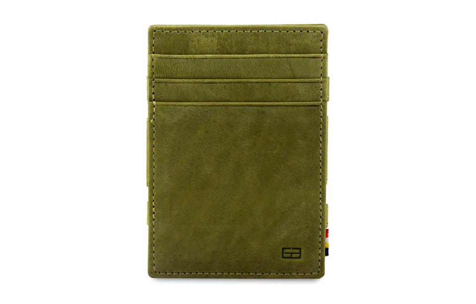 Garzini – magic wallet – Essenziale Coin Pocket – olive green