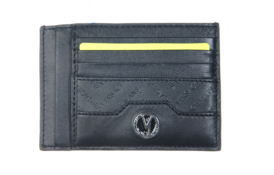 Versace Jeans – Linea B Dis. 4 – creditcardhouder – Nero/Nero