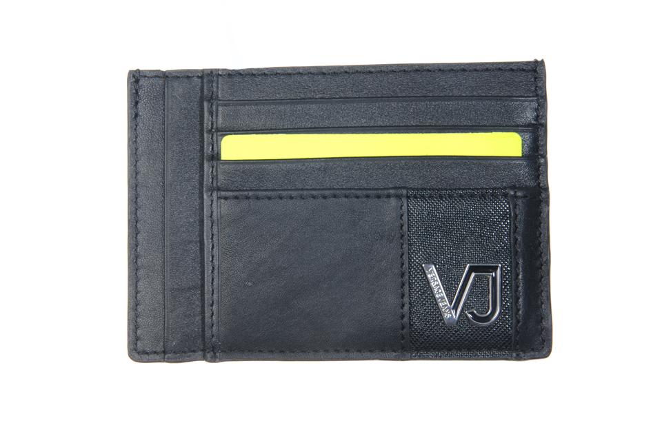 Versace Jeans – Linea A Dis. 4 – creditcardhouder – Nero