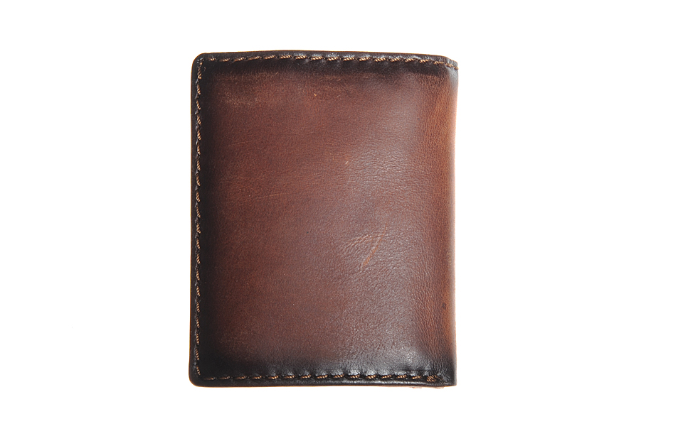 Portemonnee Billfold.Leather Design Billfold Cardprotector Portemonnee