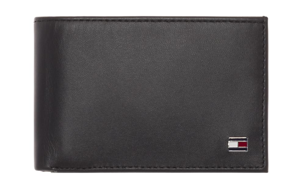 Tommy Hilfiger – Eton – Mini CC Flap coin pocket heren portemonnee – Black