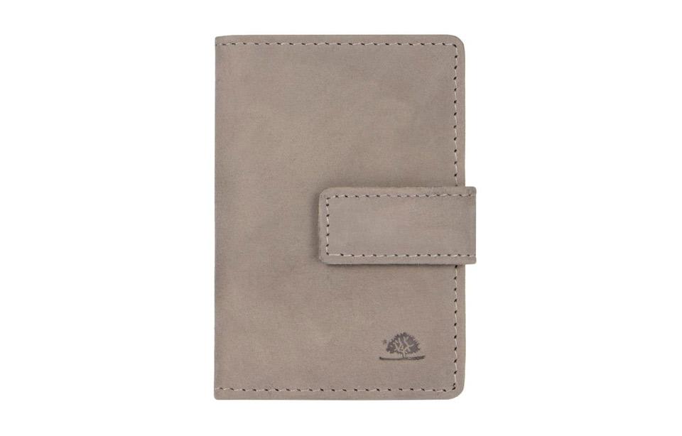 Greenburry – RFID creditcard wallet met moneyclip – grey