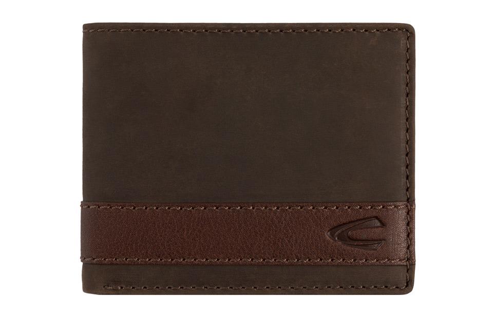 Camel Active – Taipeh – RFID jeanswallet heren portemonnee – brown