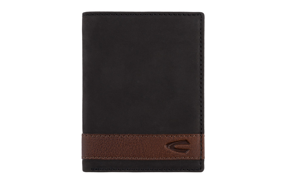 Camel Active – Taipeh – RFID verticaal heren portemonnee – black